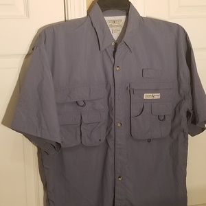 Hook & Tackle mens S/S btn down Size M